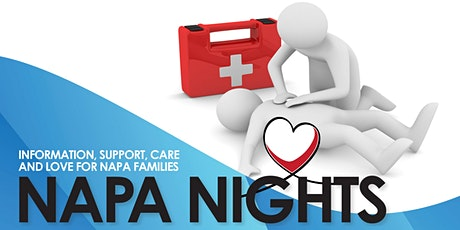 NAPA Nights - CPR and First Aid for Kids tickets