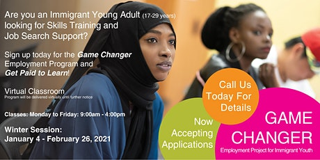 ICA Game Changer Employment Training Program Info Session tickets