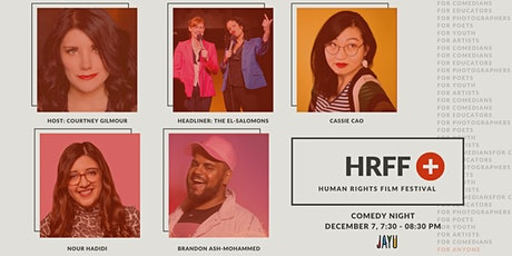 Human Rights Film Festival (HRFF+): Comedy Night tickets