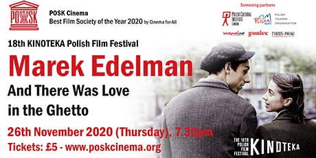 POSK Cinema #16: And there was love in the Ghetto - Thu, 26th Nov, 7.30pm tickets