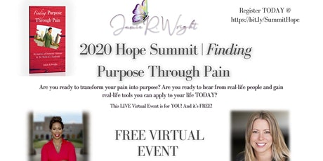 2020 Hope Summit | Finding Purpose Through Pain tickets