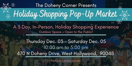 Holiday Shopping Pop-Up Market tickets