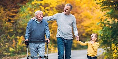 Caregiving for a Parent or Senior Creative Arts Telehealth tickets