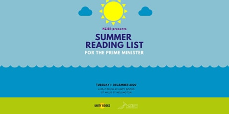 NZIER presents Summer Reading List for the Prime Minister tickets