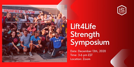 Lift4Life Strength Symposium - Online Fundraising Event tickets