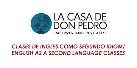 Clases de Ingles Como Segundo Idioma