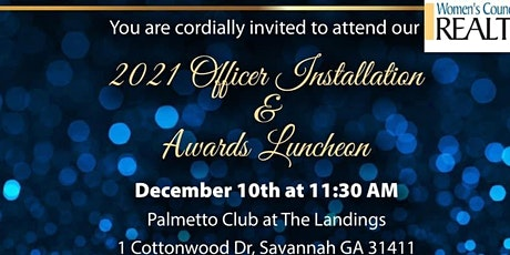 WCR Dec Holiday Luncheon & Officer Installation at The Landings! tickets