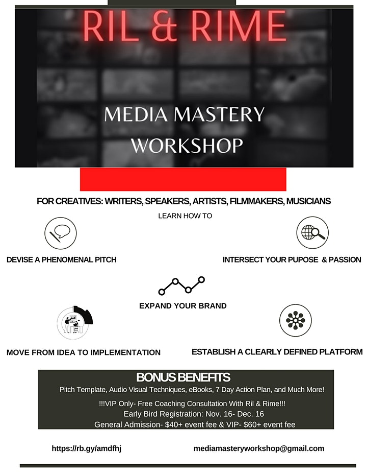 Media Mastery Workshop image