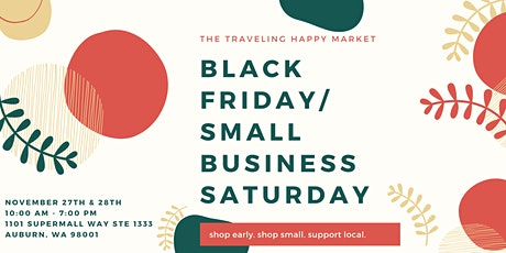 Black Friday/Small Business Saturday tickets