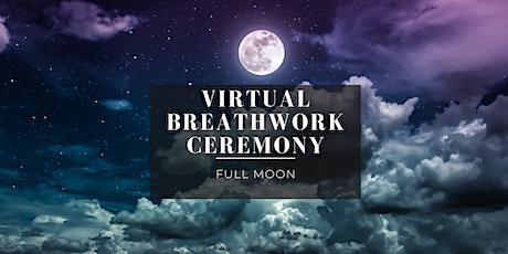 Virtual Full Moon Breathwork tickets