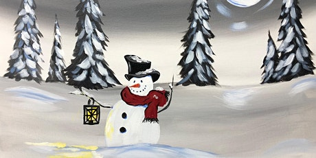 Moonlight Snowman - Paint night at Broadway Rockland tickets