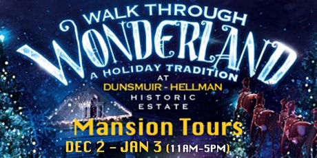 Holiday Mansion Tours tickets