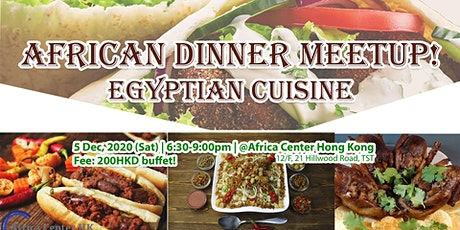 African Dinner Meetup! (Egyptian Cuisine) tickets