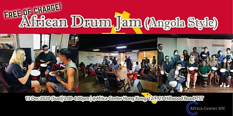 African Drum Jam (Angola Style) tickets