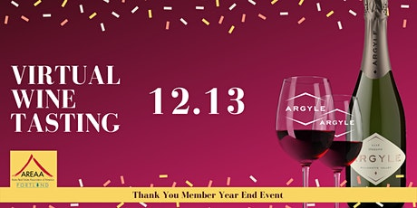 AREAA Portland Year End Celebration - Argyle Wine Tasting Event tickets