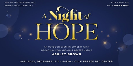 A Night of Hope with Ashley Brown & Shawn York tickets