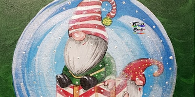 RESCHEDULE 2020 Snow Globe Paint Party (In-Person