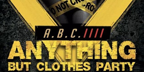 ABC- Anything but Clothes tickets