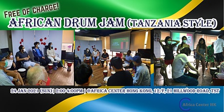 African Drum Jam (Tnazania Style) tickets