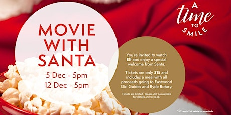 Family Movie with Santa - Benefitting Ryde Rotary & Eastwood Girl Guides tickets