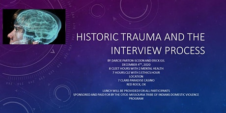 Historic Trauma and the Interview Process tickets