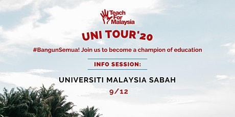 Universiti Malaysia Sabah (UMS) Info Session tickets