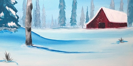 Serene winter barn paint night at G.A.B.'s tickets
