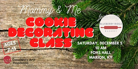 Mommy & Me Cookie Decorating Class tickets