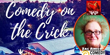 Triggered Radio presents: Comedy on the Crick with James Mac & Zac Amico tickets