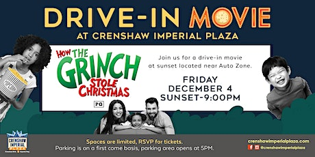 FREE Drive-In Movie at Crenshaw Imperial Plaza tickets