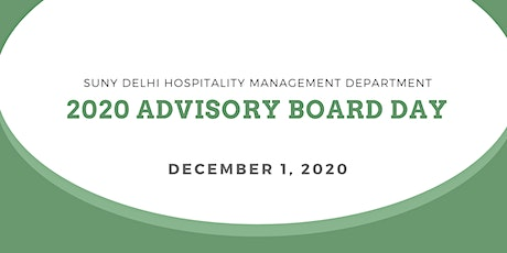 2020 Advisory Board Day tickets