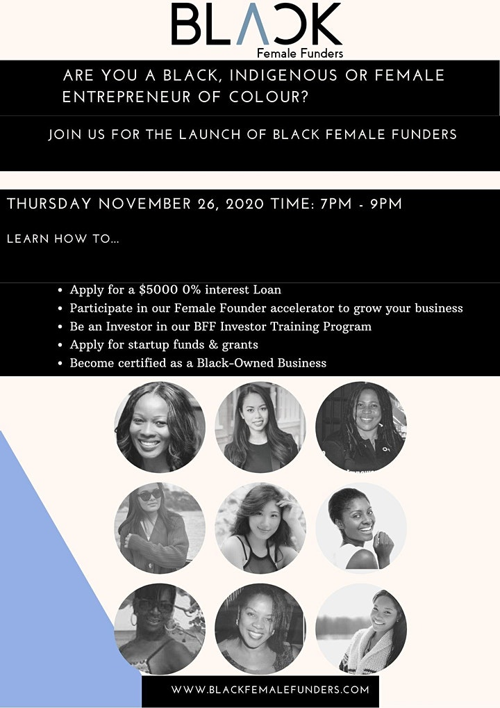 Black Female Funders Launch image