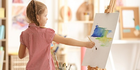Watercolours for kids workshop tickets