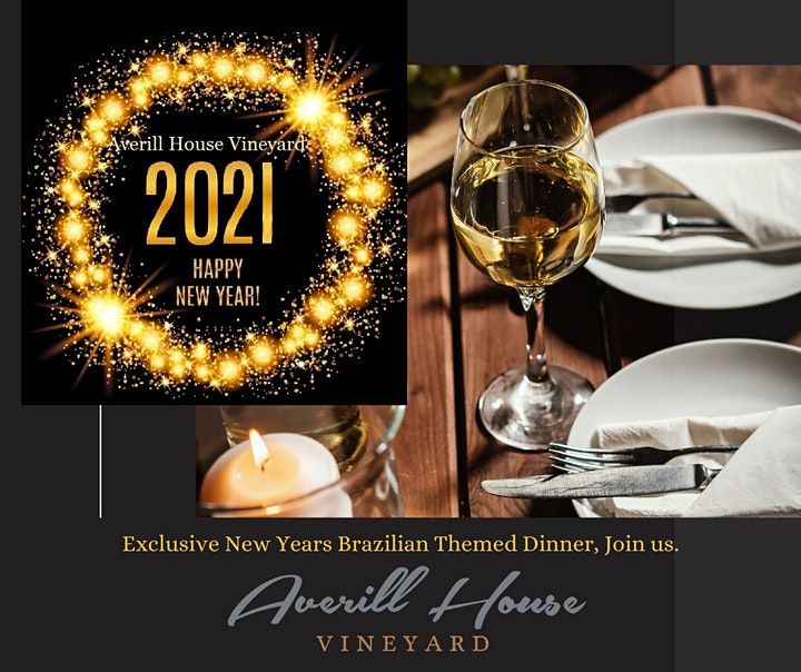 Ring in 2021 New Years Eve Celebration Five course Dinner and Wine pairing image