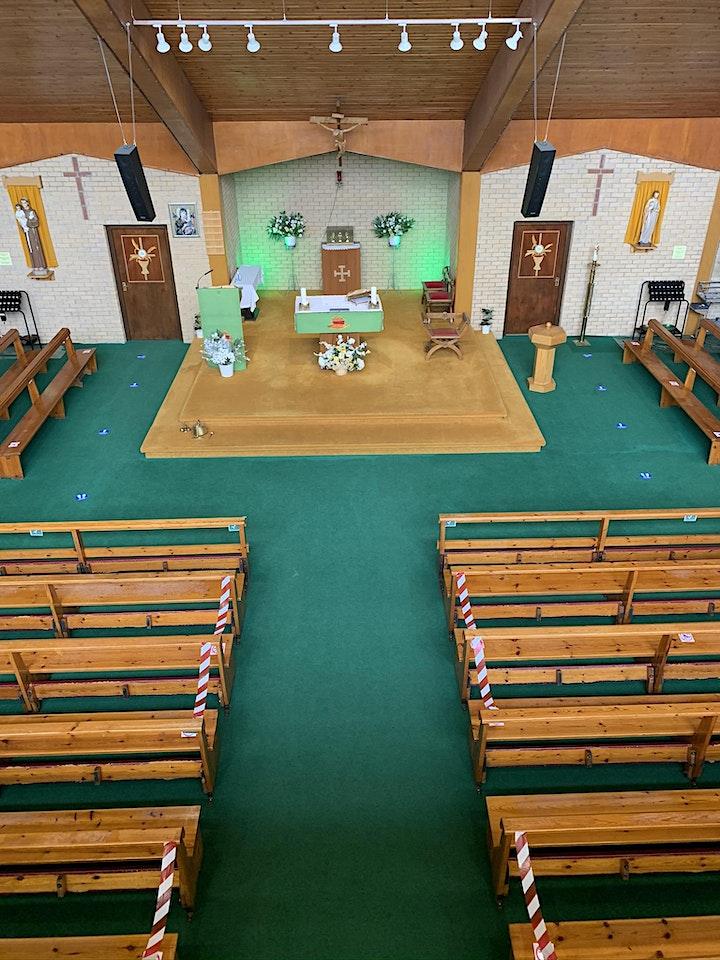 Corpus Christi 6pm Vigil Mass (During Level  0 Covid Restrictions) image