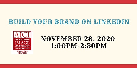 Build Your Brand On LinkedIn tickets