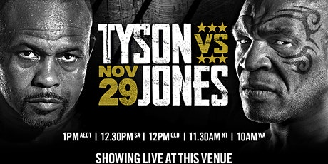 Tyson v Jones Boxing Super Fight tickets