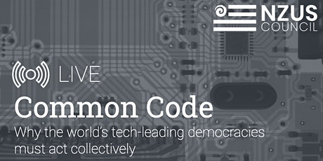 Common Code: Why the world's tech-leading democracies must act collectively tickets