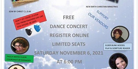 REGISTER TO PARTICIPATE IN THE CONCERT/ CONFERENCE NOVEMBER 6, 2021 tickets