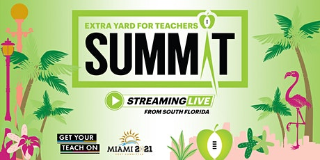 Extra Yard for Teachers Virtual Summit billets