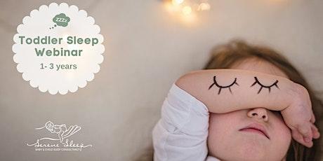 Toddler Sleep Webinar 1-3 years tickets