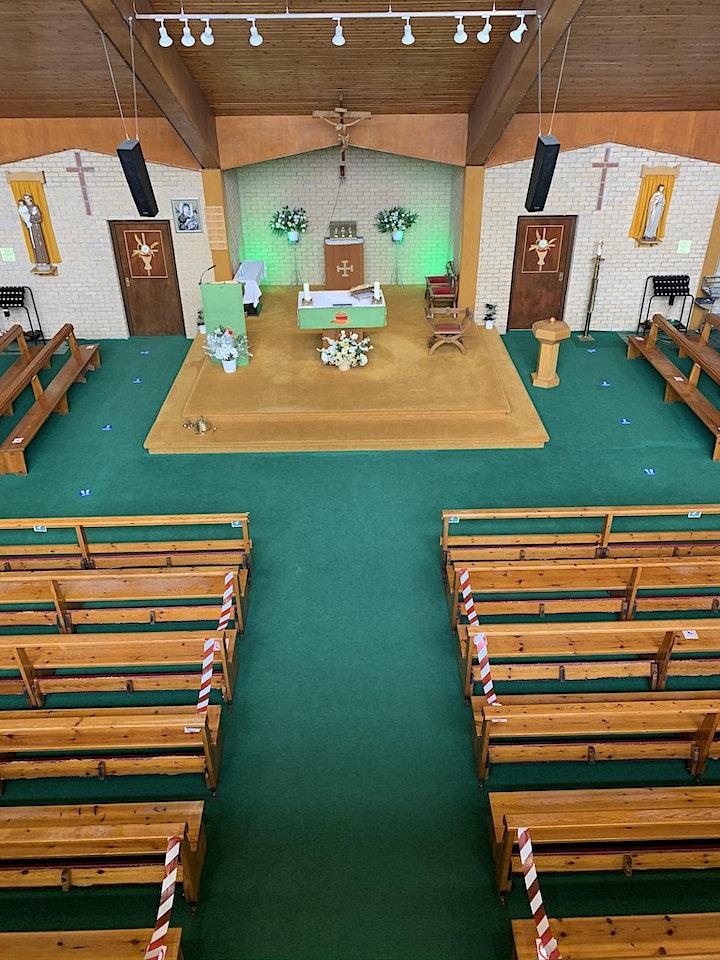 Corpus Christi Sunday Mass 11.00am (During Tier 2 Covid-19 restrictions) image