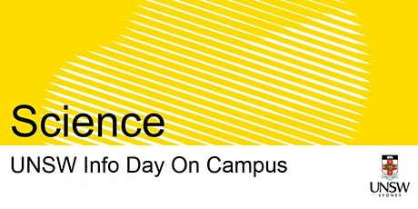 UNSW Info Day - Science tickets