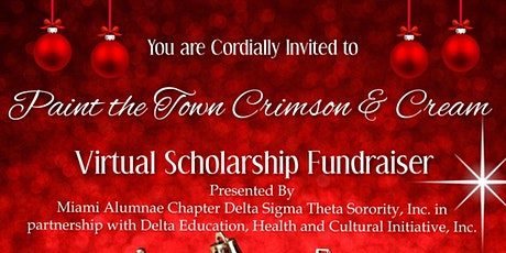 Painting the Town Crimson and Cream - A Virtual Scholarship Fundraiser tickets