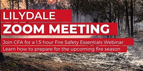 Lilydale Bushfire Information Session - Fire Safety Essentials tickets