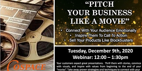 Present Your Business Like A Movie ( ONLINE EVENT) tickets