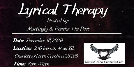 Mitty's Presents: Lyrical Therapy tickets