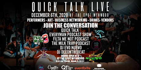 Quick Talk Live tickets