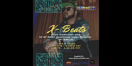 The X Beats tickets
