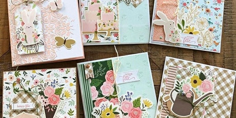 Cartes scrapbooking à la main workshop billets